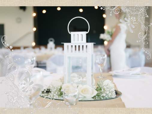 wedding table centrepiece