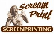 Scream Print screenprinting logo