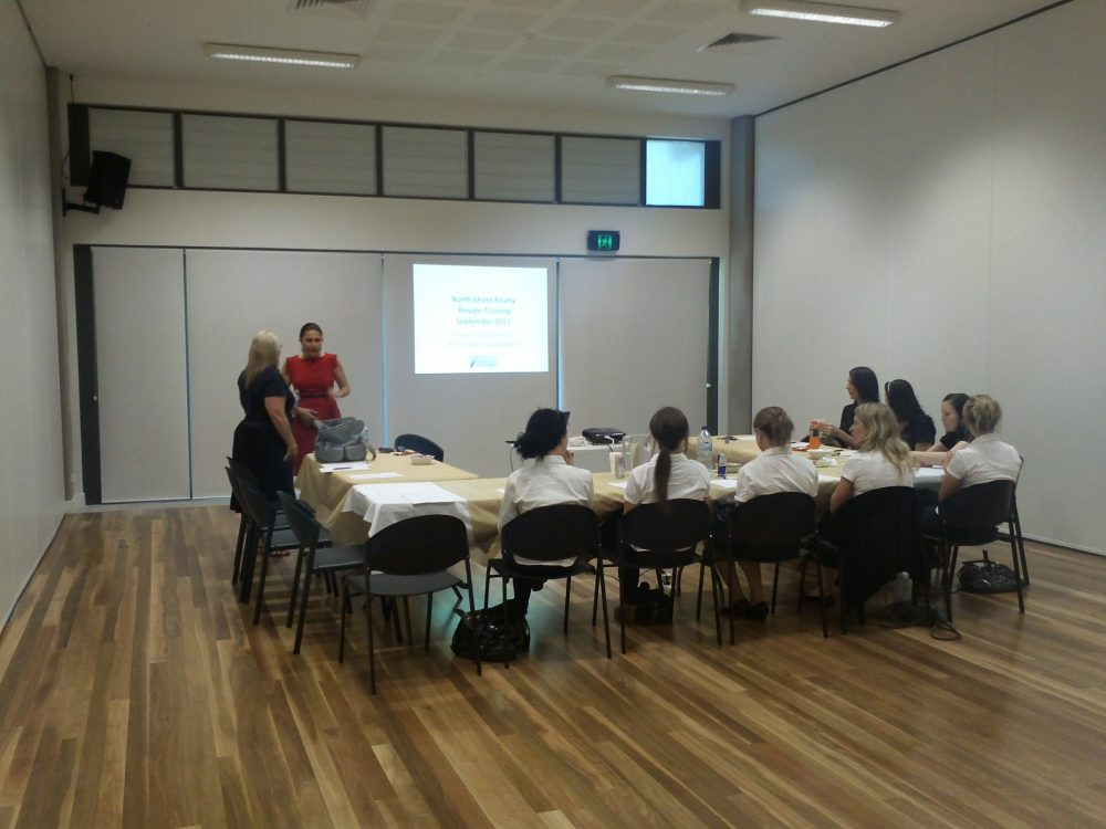 marcoola room used for small group presentation